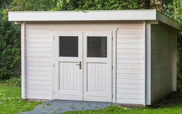 Derbyshire garden shed costs